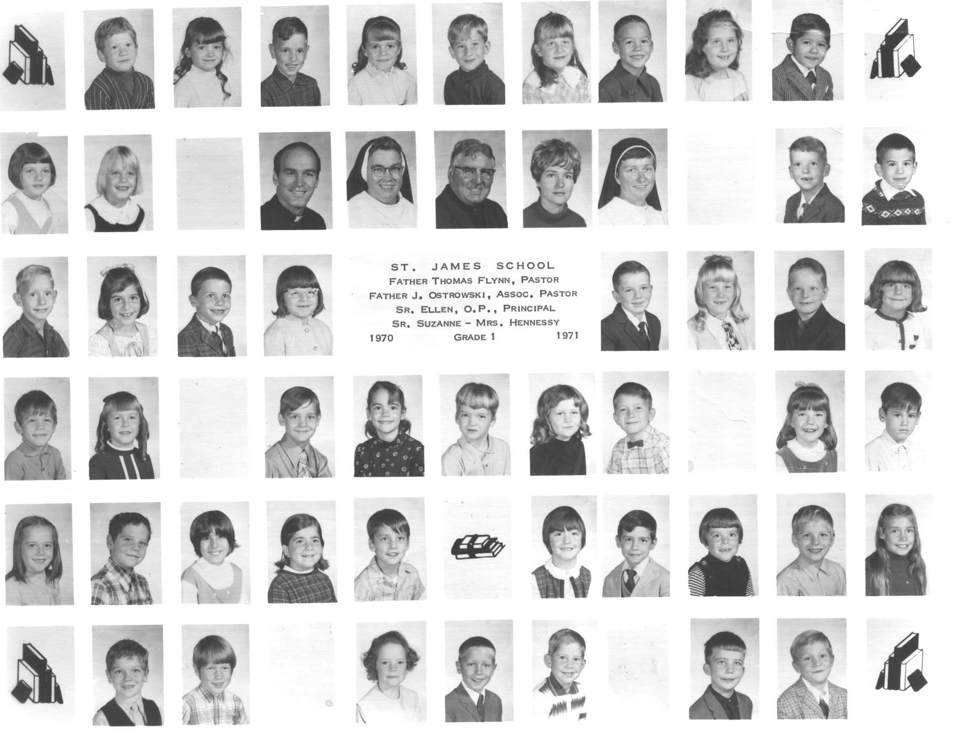 dogtown st james class of in st grade special thanks to kathleen mcnicholas for the loan of the photo and help the s