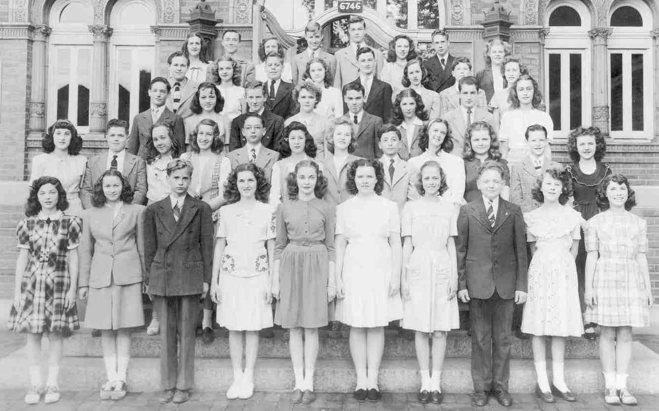 Dogtown Dewey School Class Of 1945 St Louis Mo