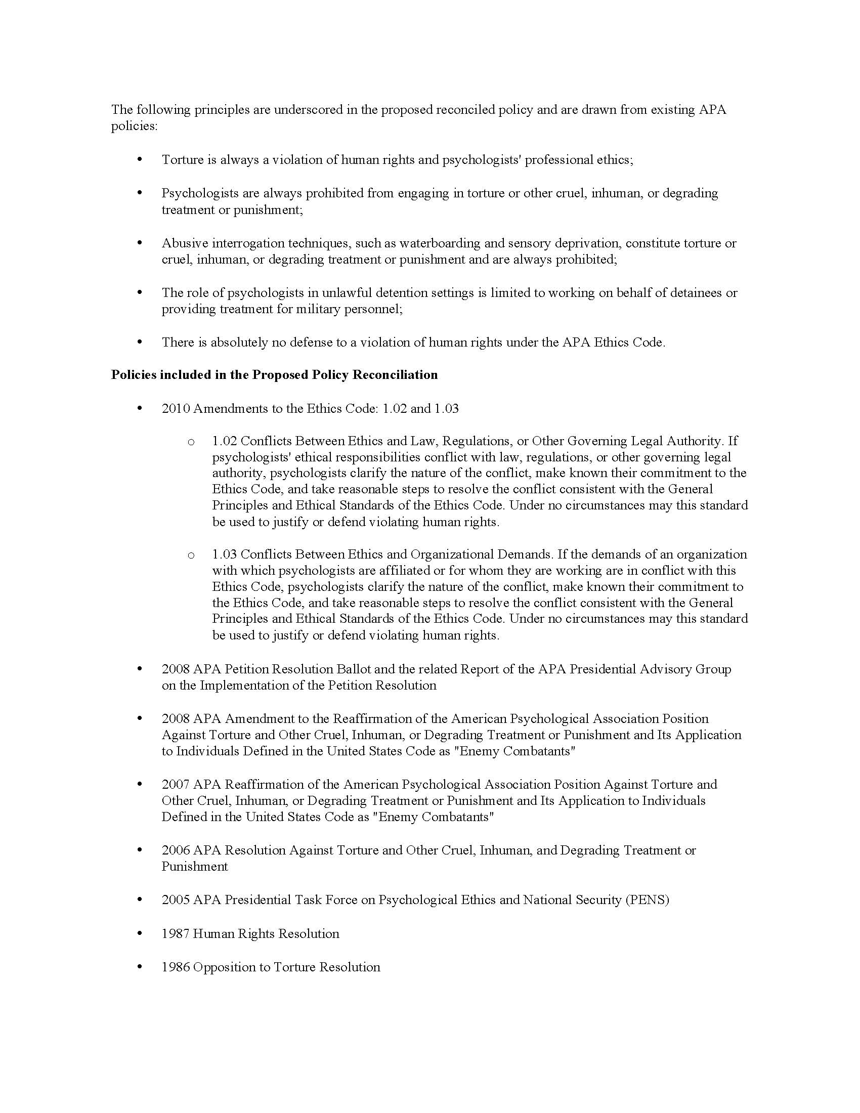 reconciledpolicyfinalreport feb 2013 page 03 jpg report of the apa member initiated task force to reconcile apa policies related to psychologists work in national security settings